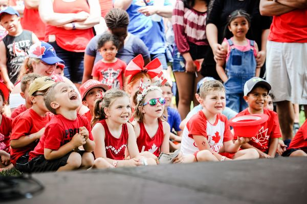 2017 Canada Day photo of children