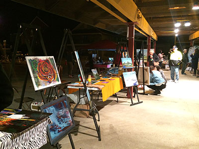 Night Of Art in the Farmers Market