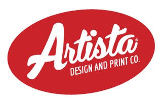 Artista Design and Print logo