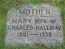 Cemetery monument or marker