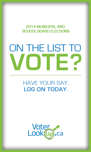 Voter Lookup - Are you on the list?