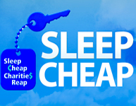 Sleep Cheap Charities Reap