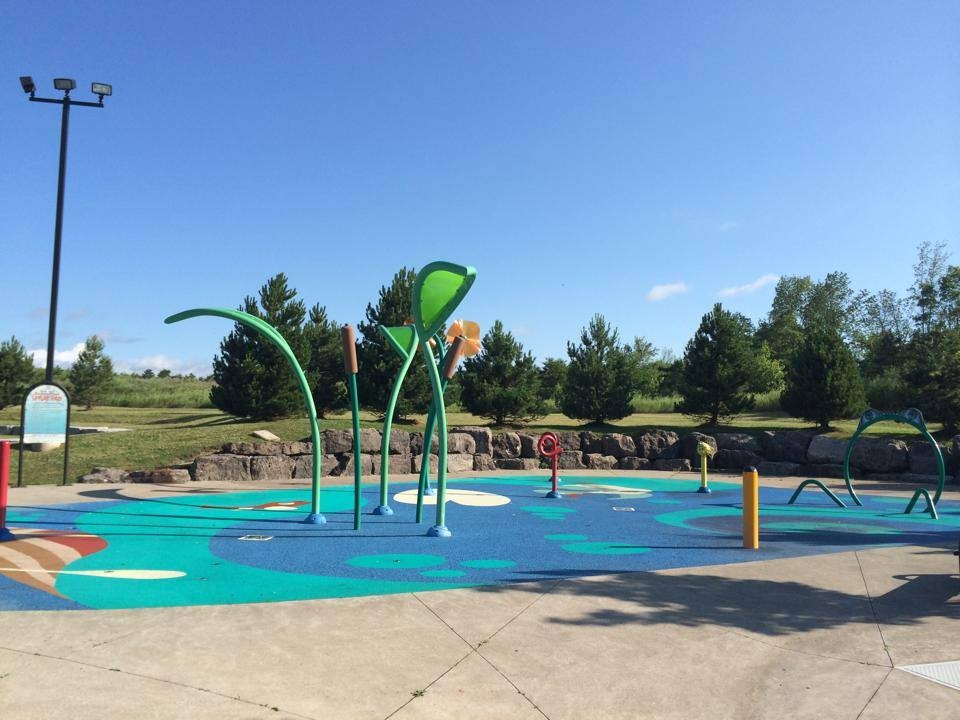 MacBain splash pad