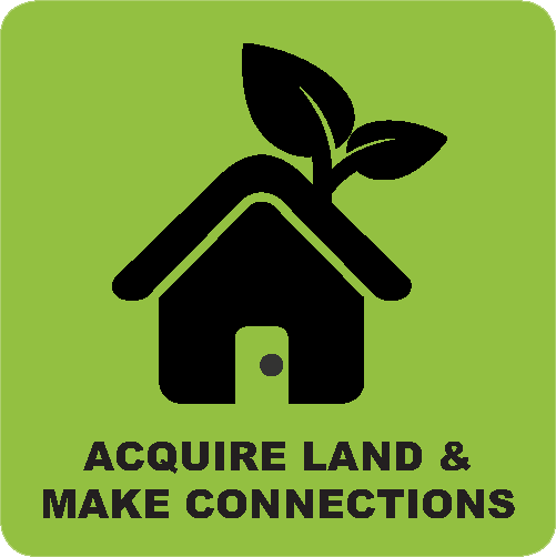 Acquire Land & Make Connections