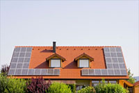 SolarPanels on a house
