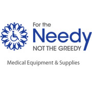 For The Needy, Not The Greedy Logo