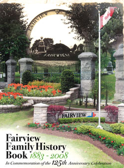 Cover image from the Fairview Family History Book