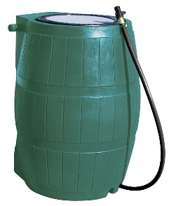 RC4000 Rain Barrel, colour Green