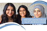 Youth Leadership Conference - May 19, 2015 at Brock University