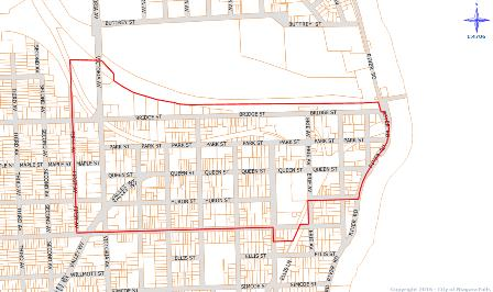 Downtown CIP Area Boundary