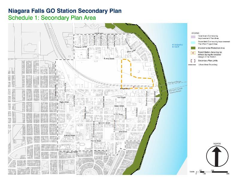 GO Transit Station Secondary Plan Area