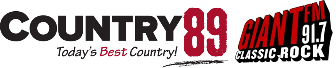 Logos: Country89 & 91.7 Giant FM