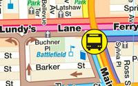 Niagara Falls Transit Map Niagara Falls Bus Routes