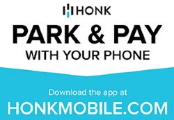 Park and Pay with your phone - download the app at honkmobile.com